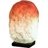 Соляная лампа Соляна Скала цветная 4-6кг