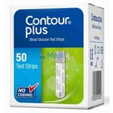 Тест-полоски Bayer Contour Plus 50 шт