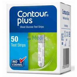 Тест-полоски Bayer Contour Plus 50 шт