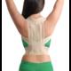 Корректор осанки эластичный с ребрами жесткости Medtextile 2011