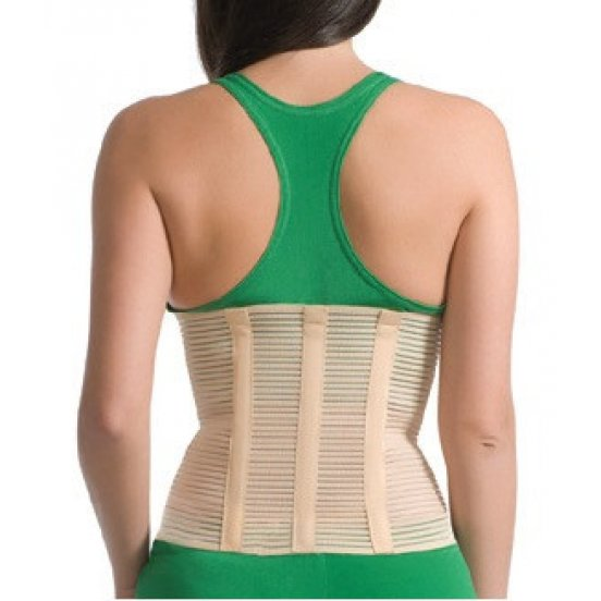 Бандаж лечебно-профилактический с 3 ребрами жесткости Medtextile 4001