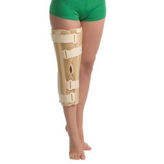 Бандаж на коленный сустав с ребрами жесткости с усиленной фиксацией (ТУТОР) Medtextile 6112