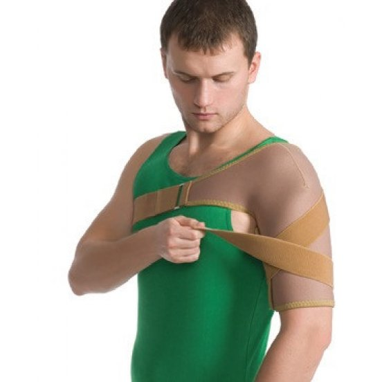 Бандаж на плечевой сустав эластичный Medtextile 8001