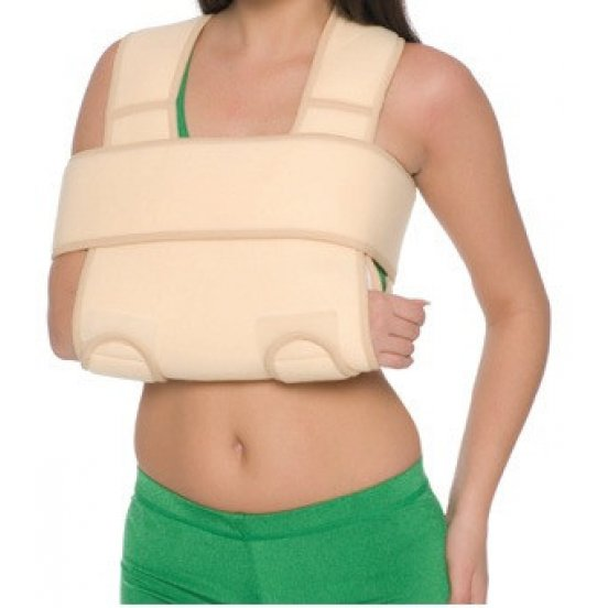 Бандаж на плечевой сустав согревающий (повязка Дезо) Medtextile 8011