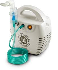 Ингалятор компрессорный (небулайзер) LD-211C Little Doctor White